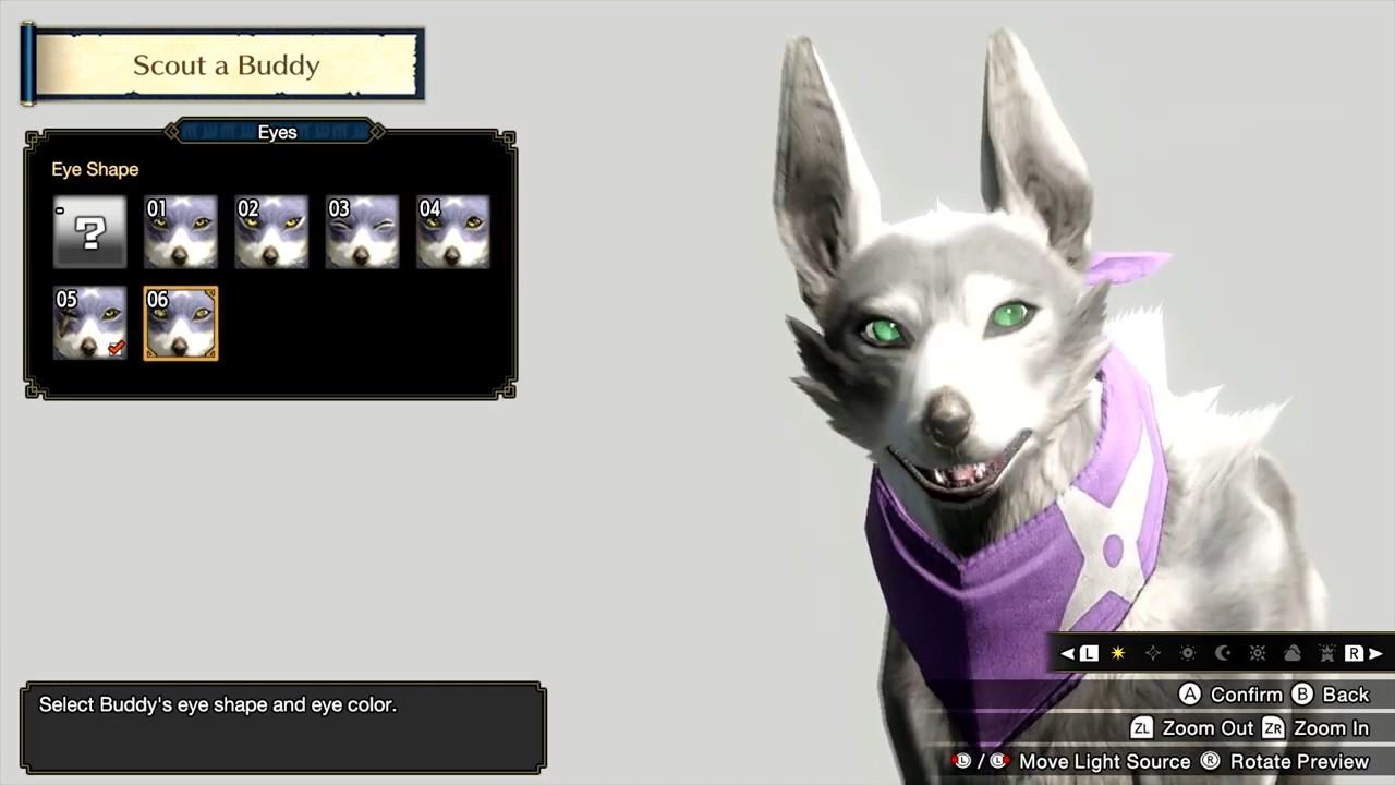 IGN发布《怪物猎人:崛起》随从自定义功能视频