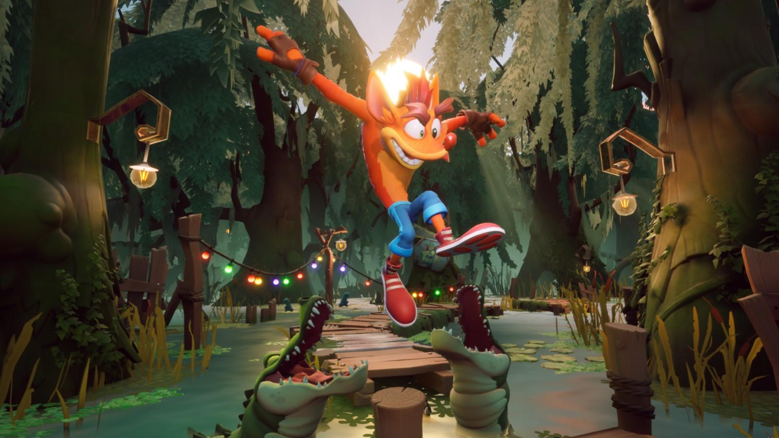 《古惑狼4》将登陆PC和新主机平台 次世代截图公开