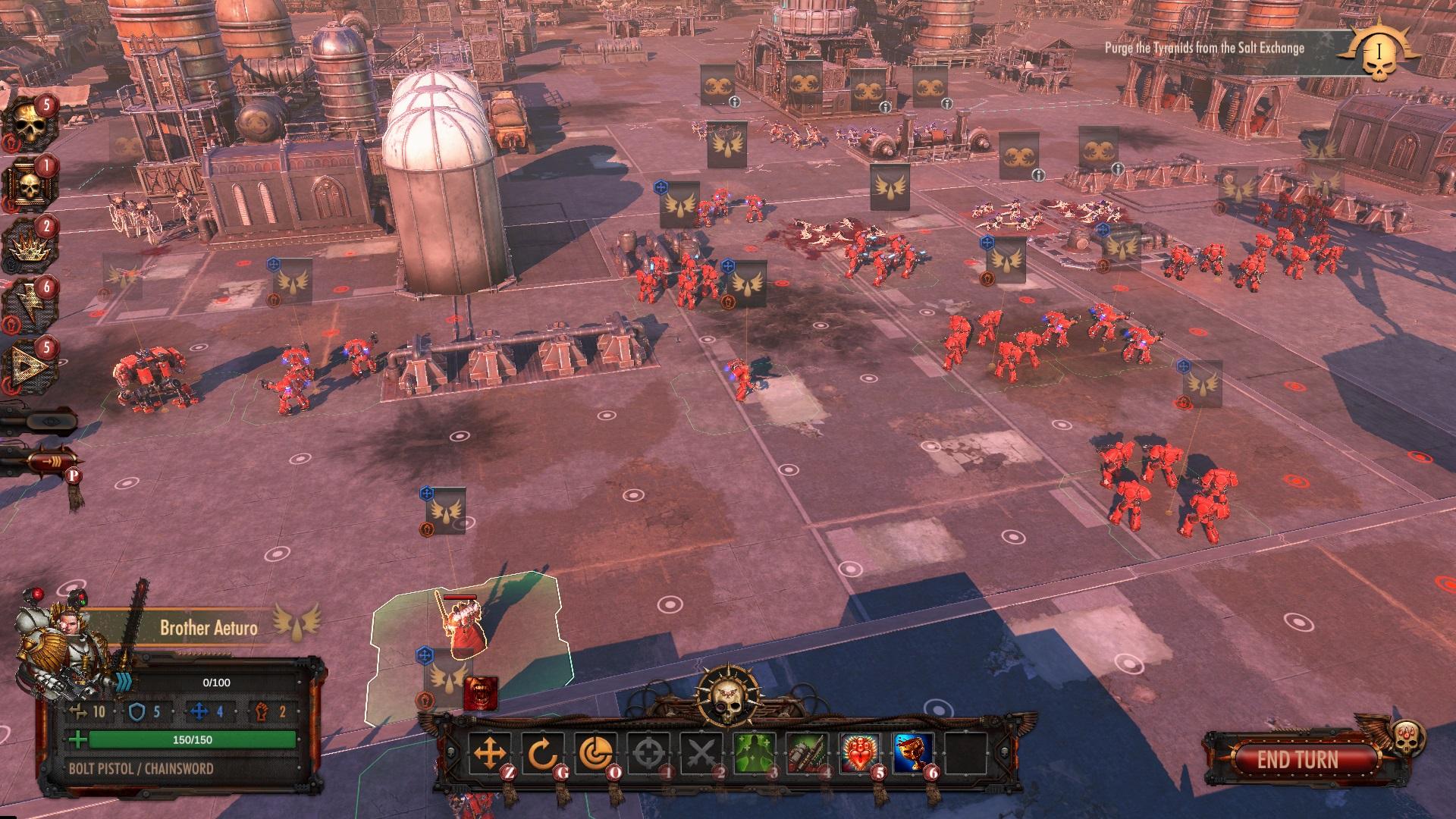 消灭泰伦虫族 回合策略新作《战锤40K:战区》公布