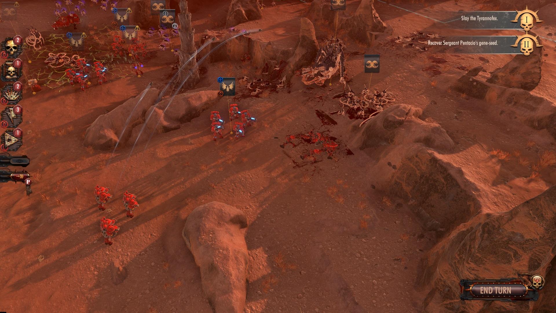 圣血天使激战泰伦虫族 《战锤40K:战区》实机演示