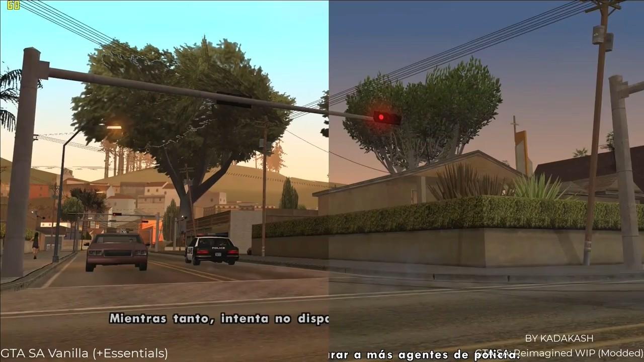 《侠盗猎车手:圣安地列斯》4.6G高清mod发布 纹理提升4倍