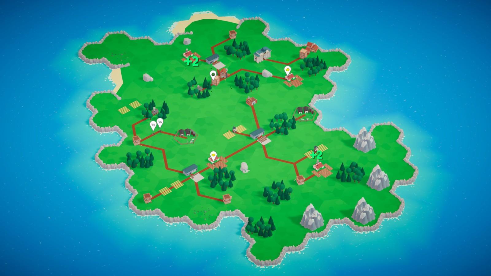 交通运输策略游戏《微型国度》发售 Steam国区37元