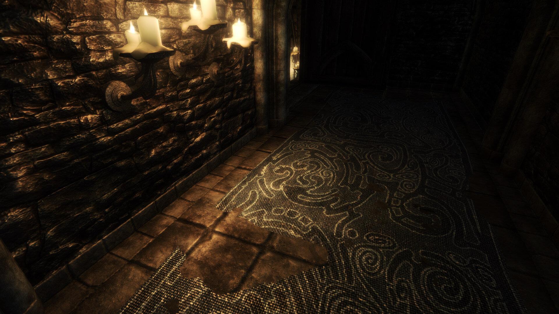 《上古卷轴5》高清材质包 大幅提升地下城环境画质