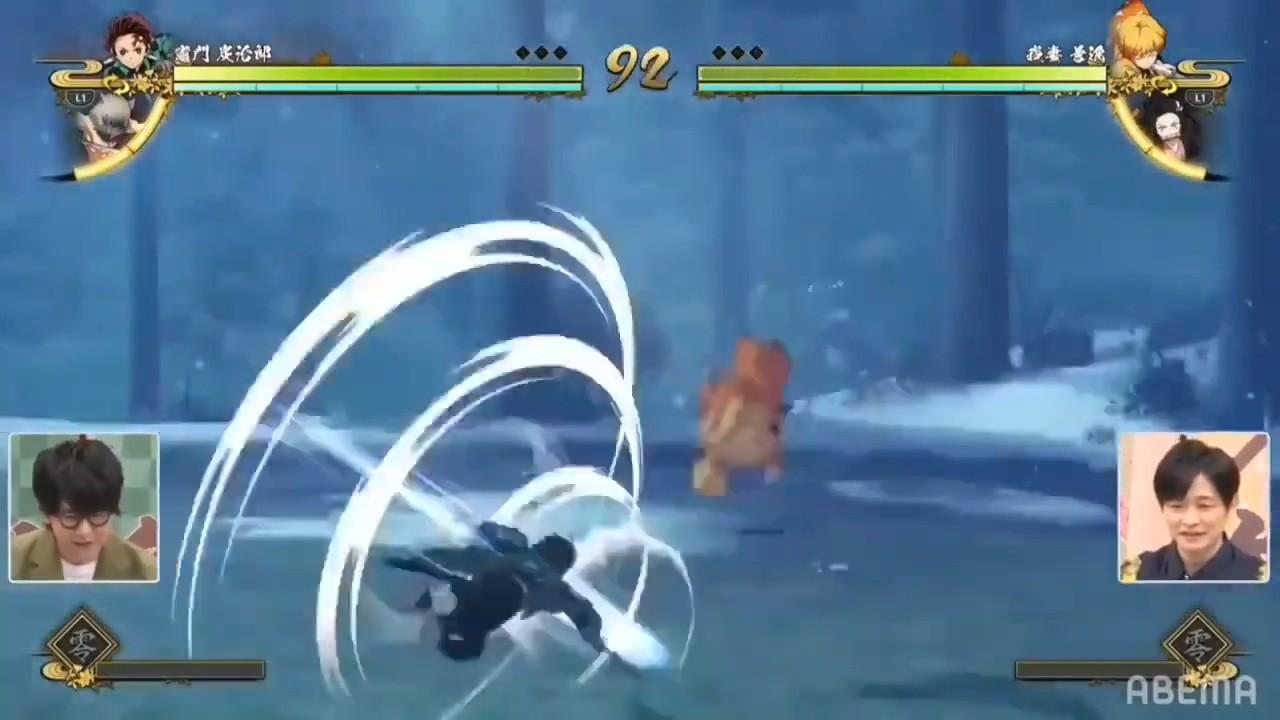 对战游戏《鬼灭之刃:火神血风谭》实机演示 《龙珠Z》厂商制作