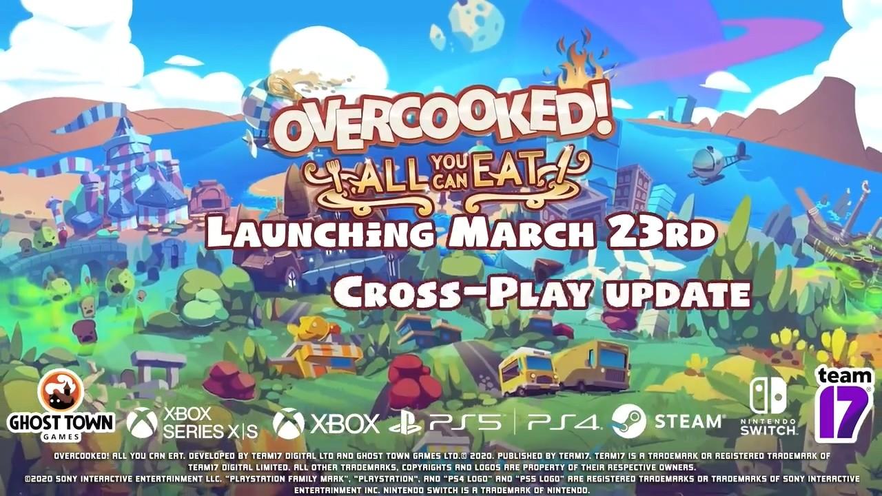 《胡鬧廚房:全都好吃》3月23日登陸PS4/XB1/NS/PC
