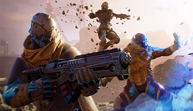 SE科幻射击游戏《Outriders》还将登陆谷歌Stadia