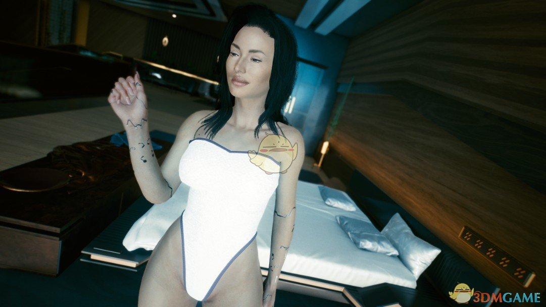 《赛博朋克2077》纯净肤色MOD