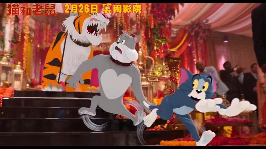真人电影《猫和老鼠》中文新预告 损友相爱相杀