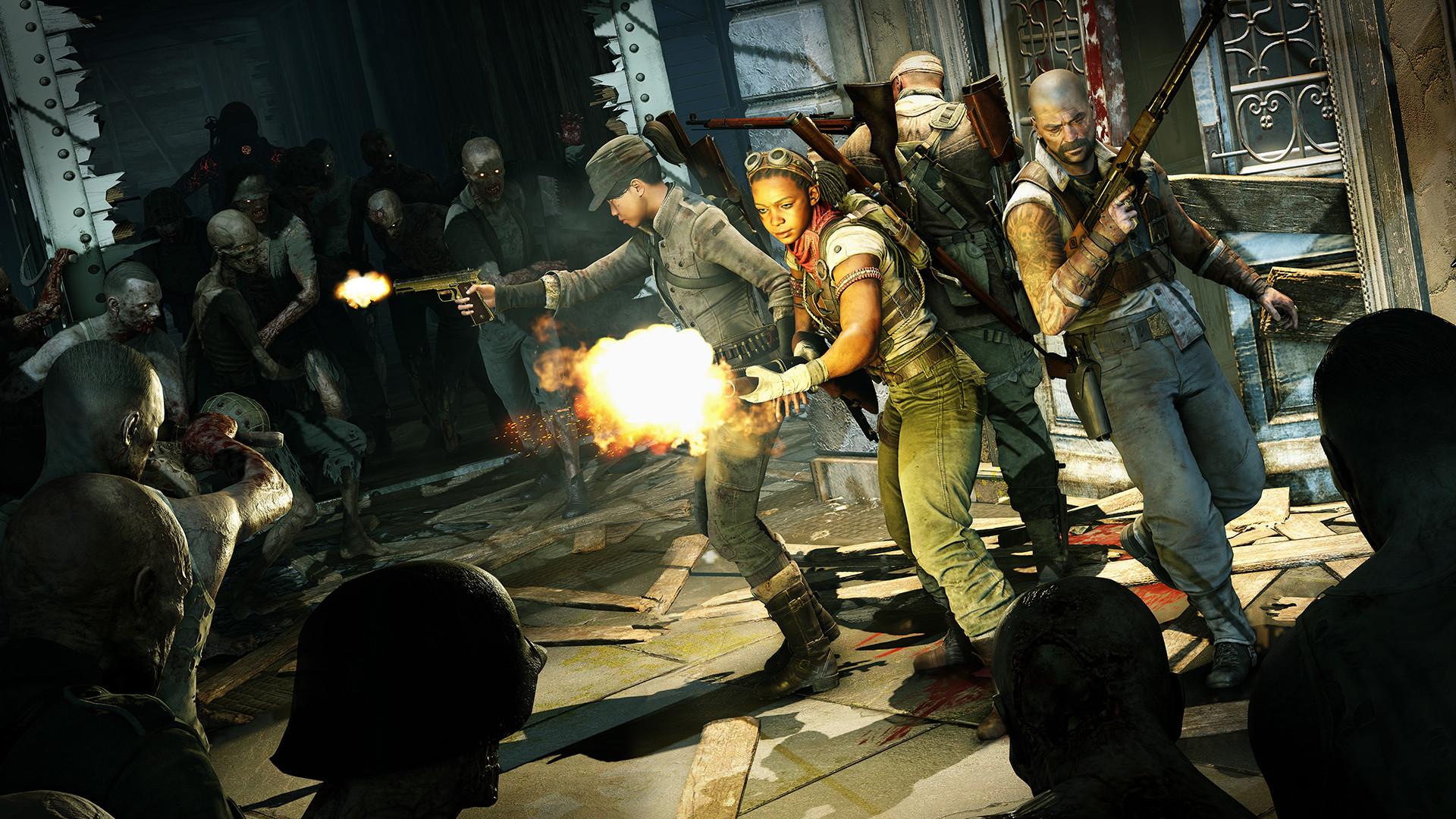 《僵尸部队4:死亡战争》登陆Steam 结束Epic独占