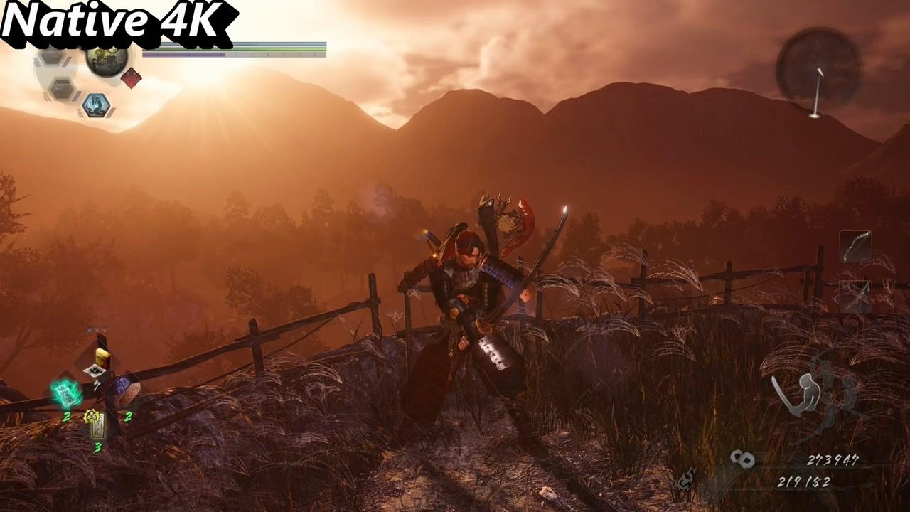 《仁王2》PC版对比视频:DLSS vs 原生4K