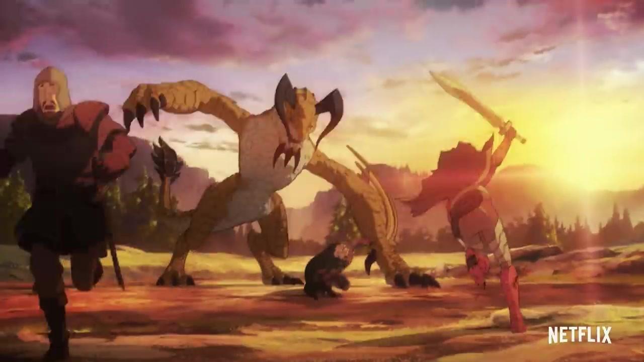 Netflix改编《Dota:龙之血》全新预告片分享