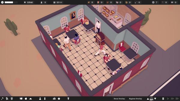 Steam餐厅模拟游戏《TasteMaker: Restaurant Simulator》特别好评