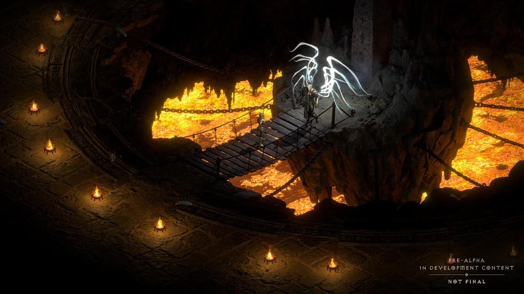 《暗黑破坏神2:重制版》截图及概念图 画面焕然一新