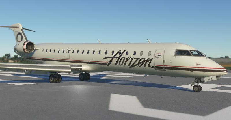 《微软飞行模拟》新一批截图 展示CRJ900等细节
