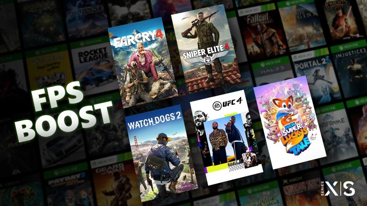 Xbox新FPS Boost功能需要某些游戏降低分辨率