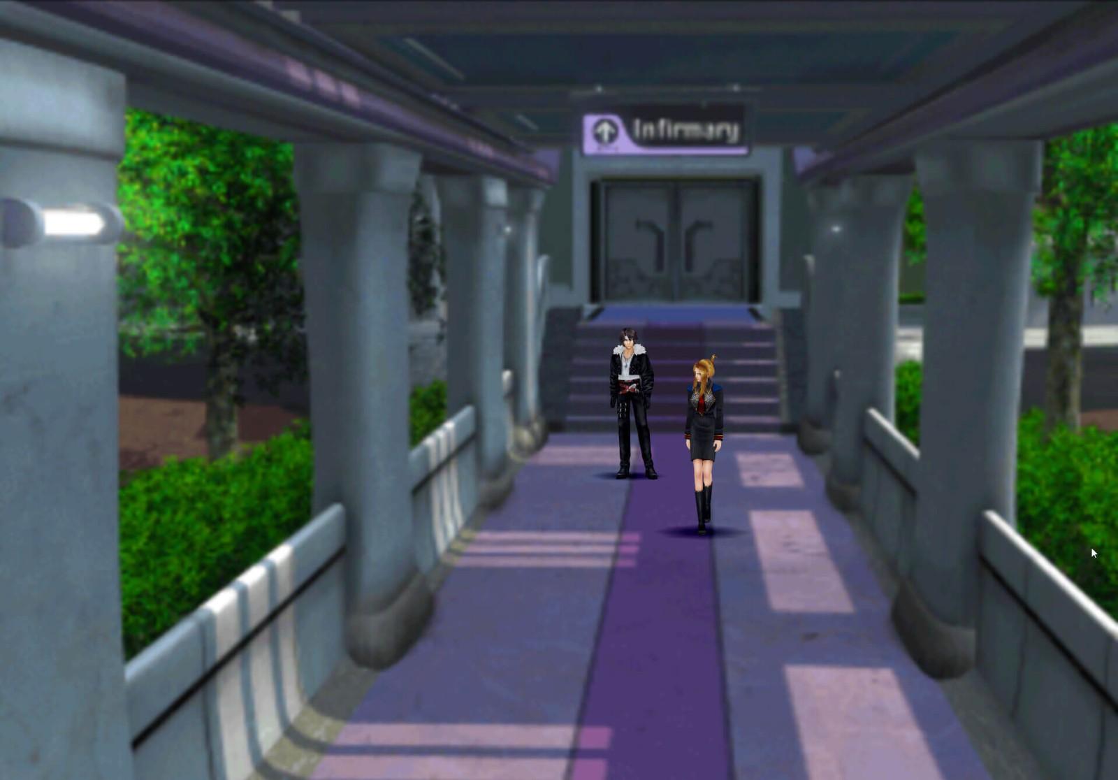 碾压官方版本 玩家自制《最终幻想8:重制版》场景