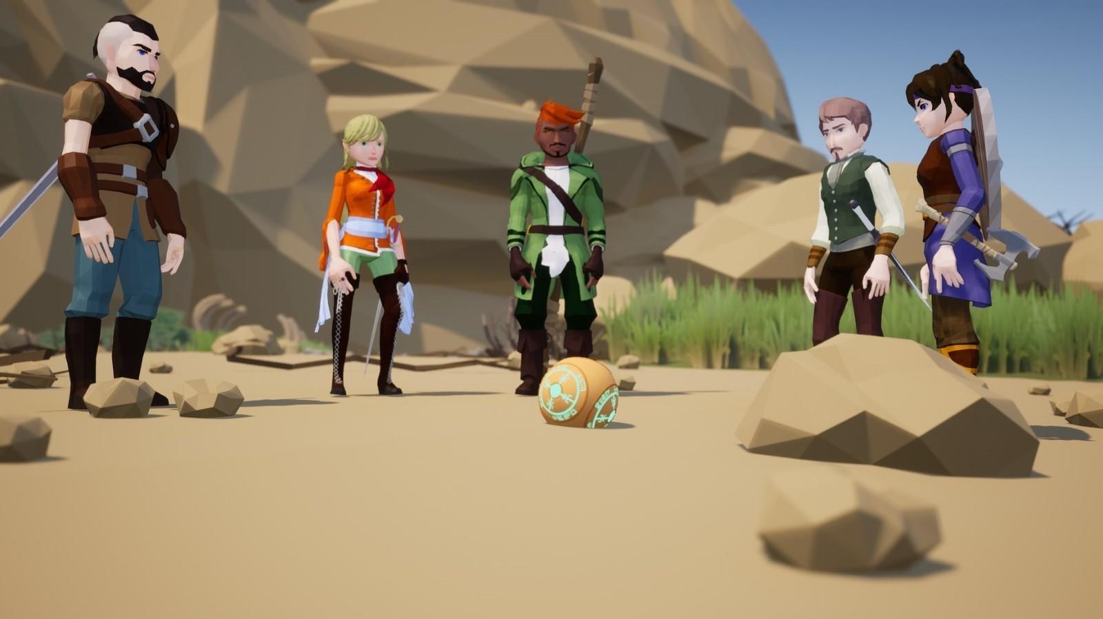 战术RPG《未知海岸》在Steam上发售 售价70元
