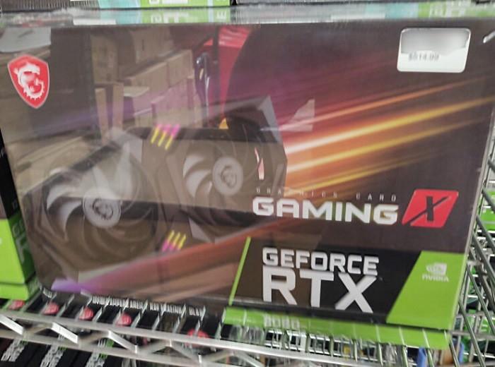 RTX3060非公版显卡零售库存谍照 售价或低于500美元