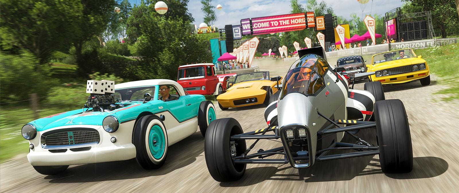 《极限竞速:地平线4》风火轮车辆包正式上市