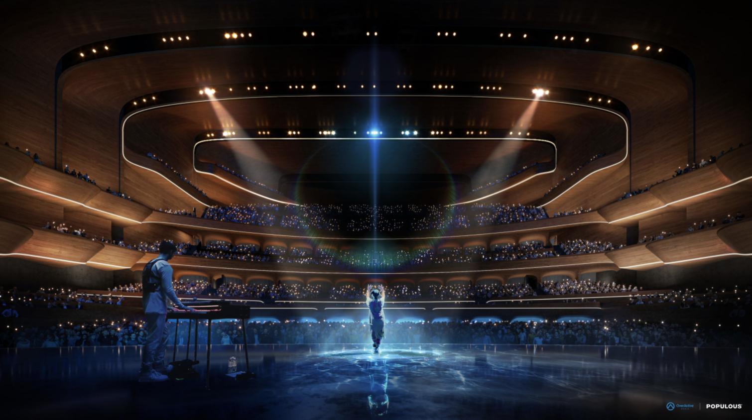 加拿大多伦多将修建7000人电竞体育馆 造型很梦幻