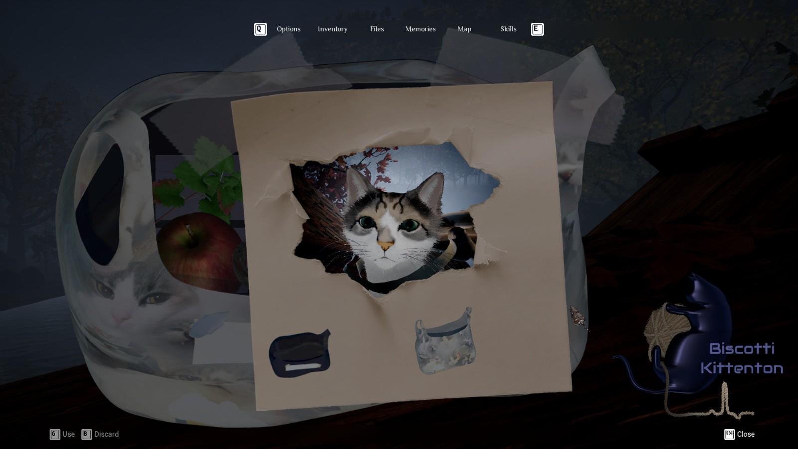 恐怖游戏《蚀刻的记忆》上线Steam试玩版 扮演小猫