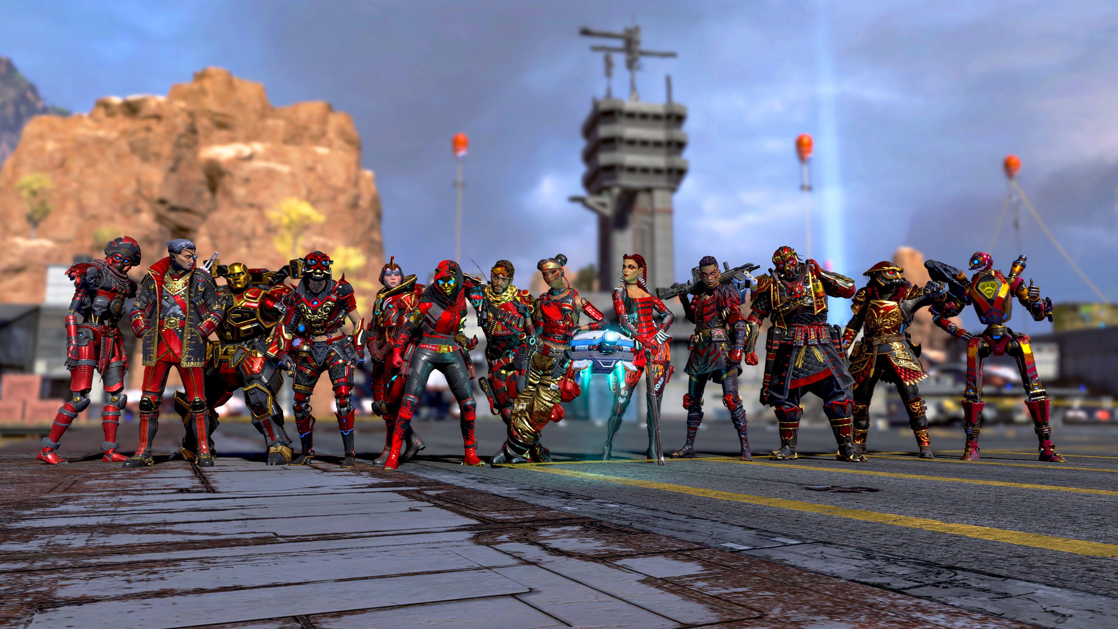 《Apex英雄》官方宣布周年收集活动时间延长一周