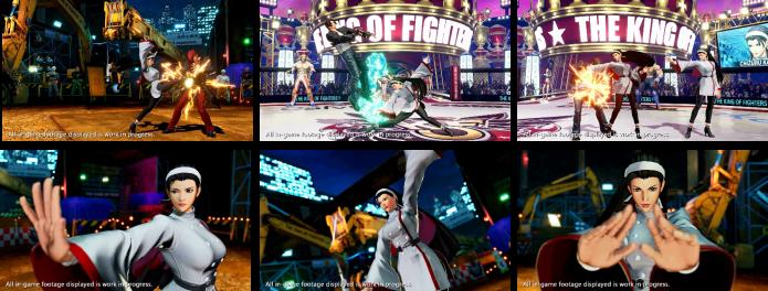 《拳皇15》角色设计师:希望神乐千鹤的动作更有范