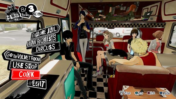 《女神异闻录5 乱战:魅影攻手》已登陆Steam 支持4K、键鼠操作