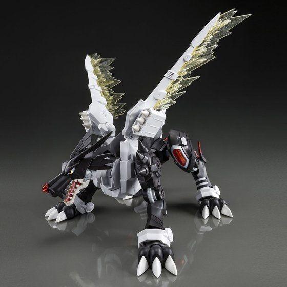 万代新品 暗黑钢铁加鲁鲁兽拼装模型 售价4500日元