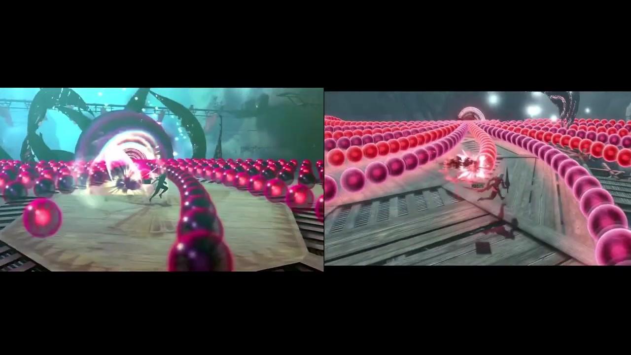《尼尔:伪装者》原版vs新版实机视频对比