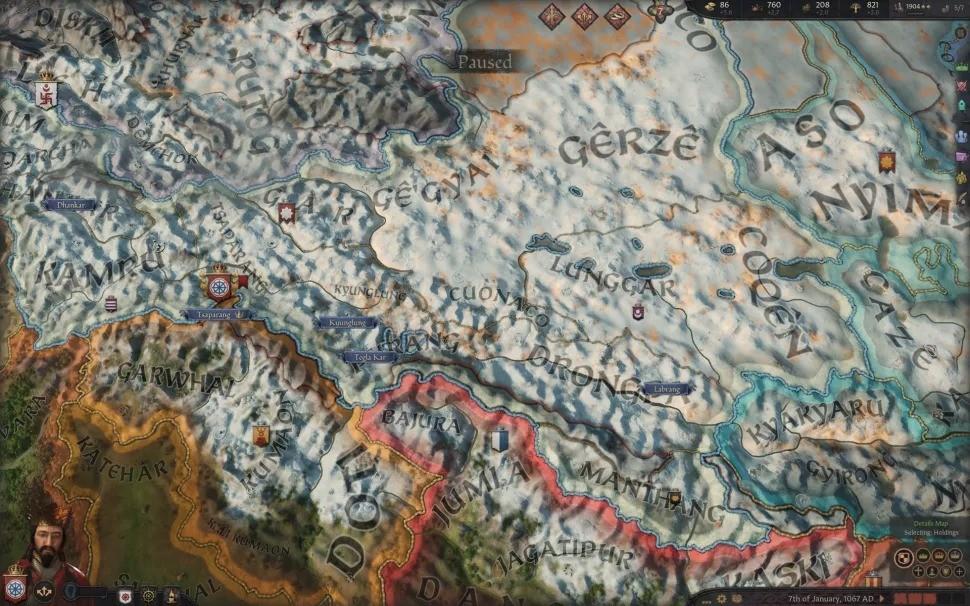 《十字军之王3》1.3版更新说明 引入冬季影响军队作战
