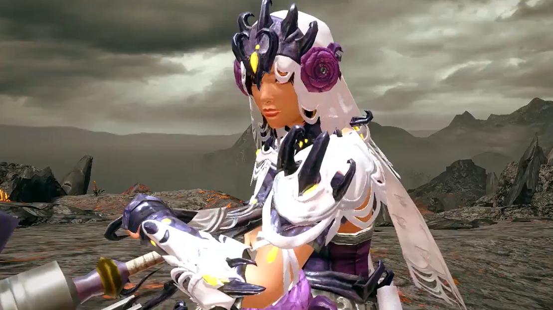 《怪物猎人:崛起》妃蜘蛛装备展示 承载一段悲恋