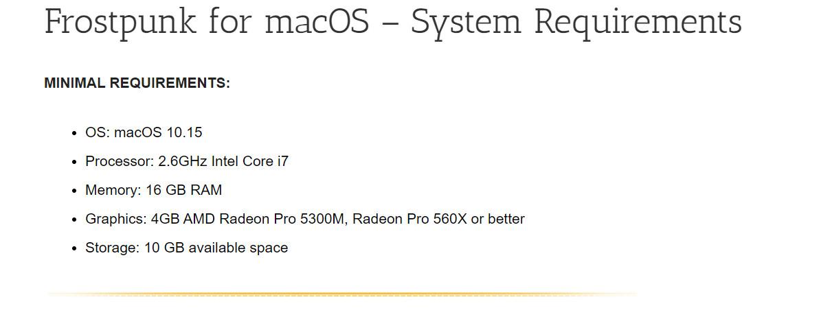 《冰汽时代》即日起支持苹果Mac系统