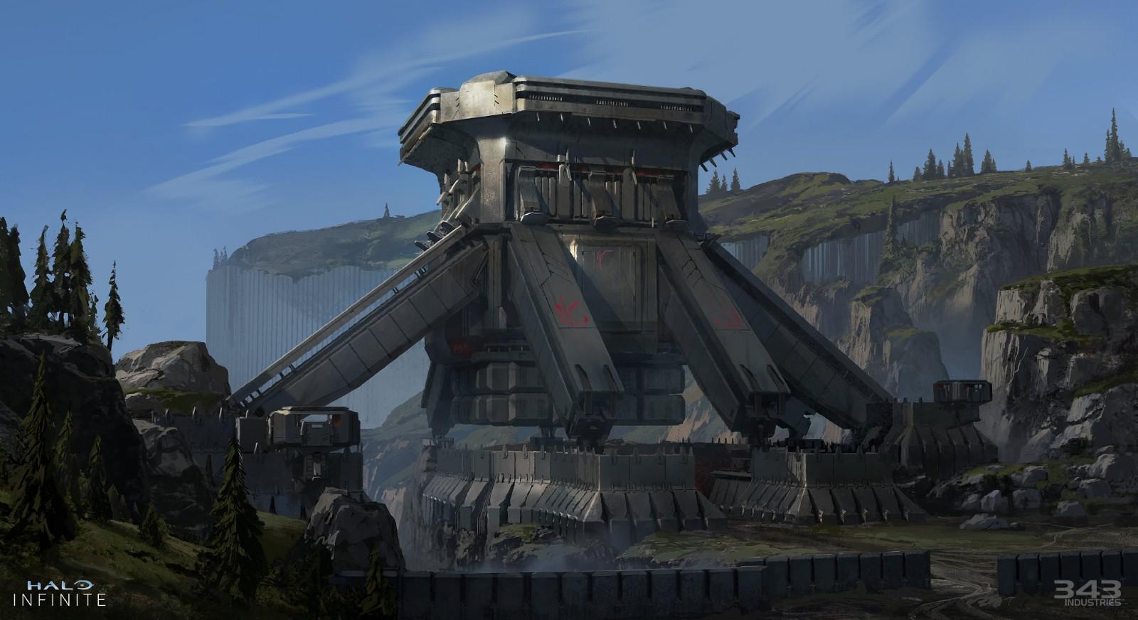 画质升级!《光环:无限》单人战役新截图和概念图