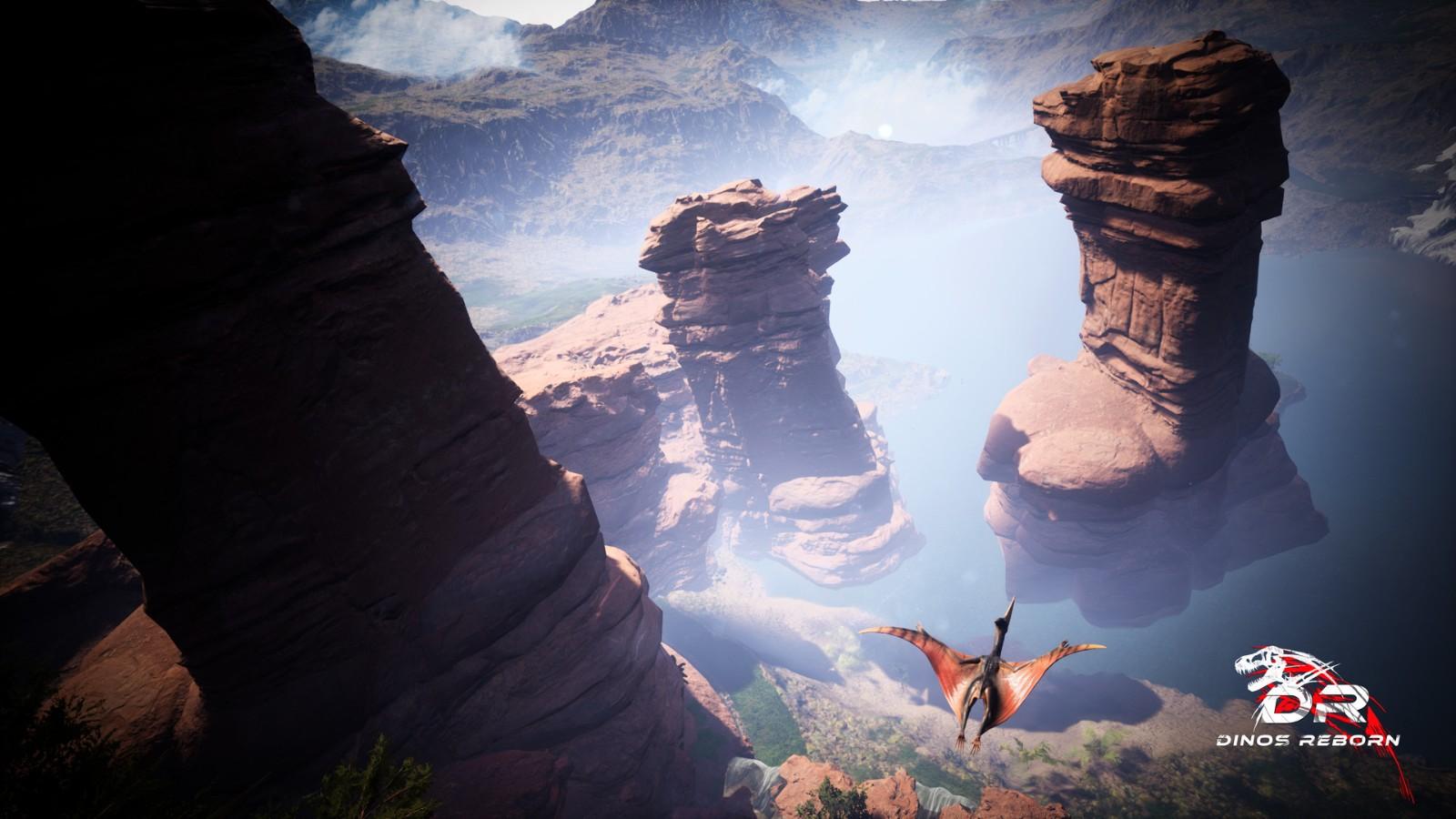 第一人称开放世界生存游戏《恐龙重生》公布 支持简中