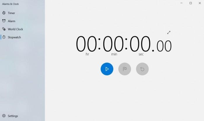微软开放新版Windows时钟和闹钟应用:启用全新UI