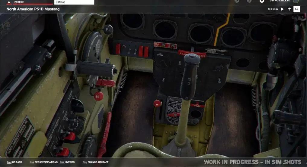 《微软飞行模拟》P-51D野马战斗机附加包公布