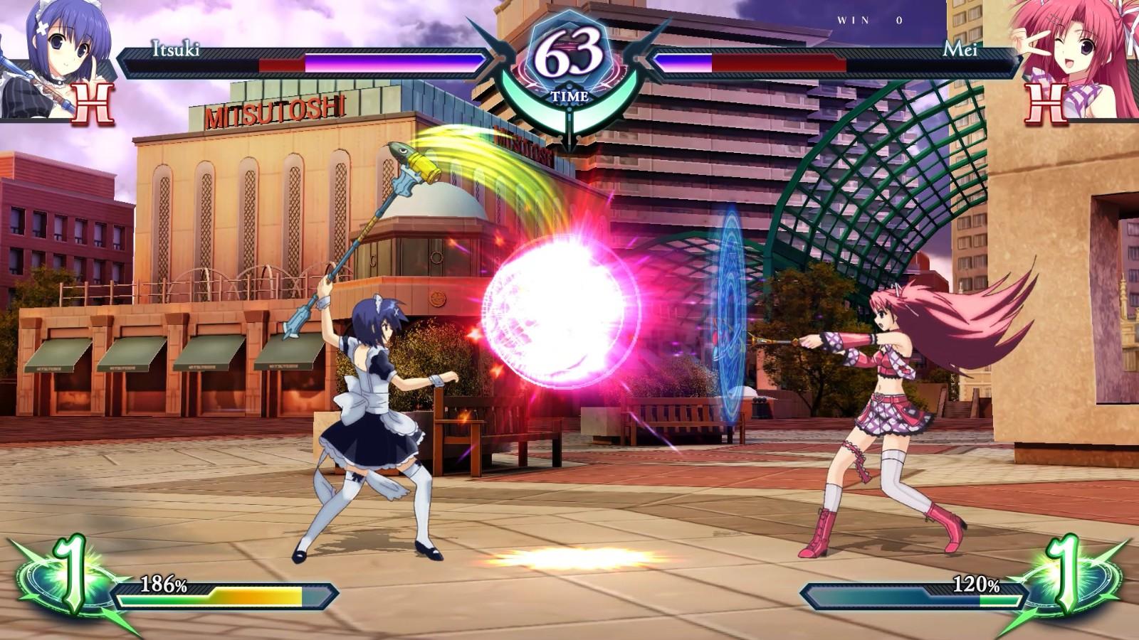 格斗游戏《幻象破坏者Omnia》新预告 美少女对战