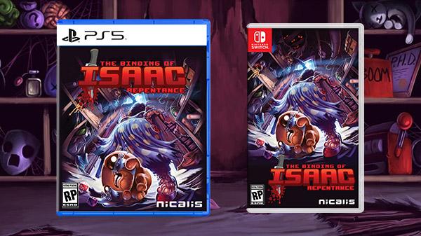 《以撒的结合忏悔》今年Q3推出PS5/PS4/NS版本 PS5/NS版提供实体版