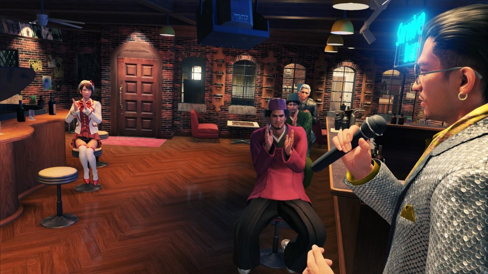 《如龙7》国际版正式登陆PS5 新增多项强化要素截图