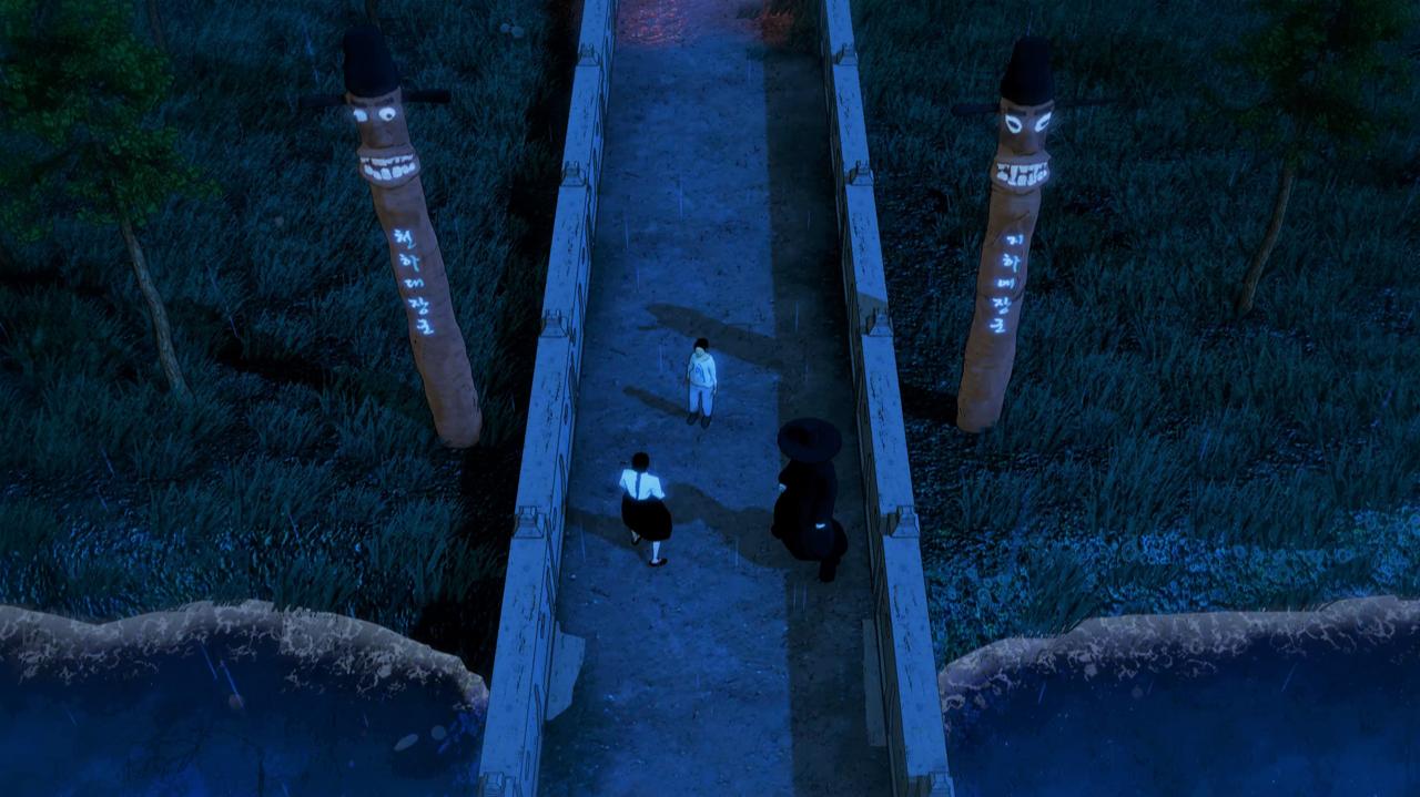 潜行动作恐怖游戏《Wonhon: A Vengeful Spirit》将于2021年发行