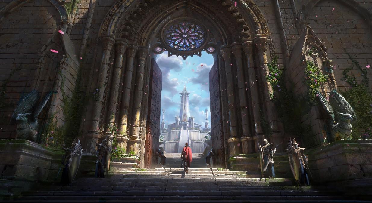 《Wallpaper Engine》宏伟城堡的大门动态壁纸