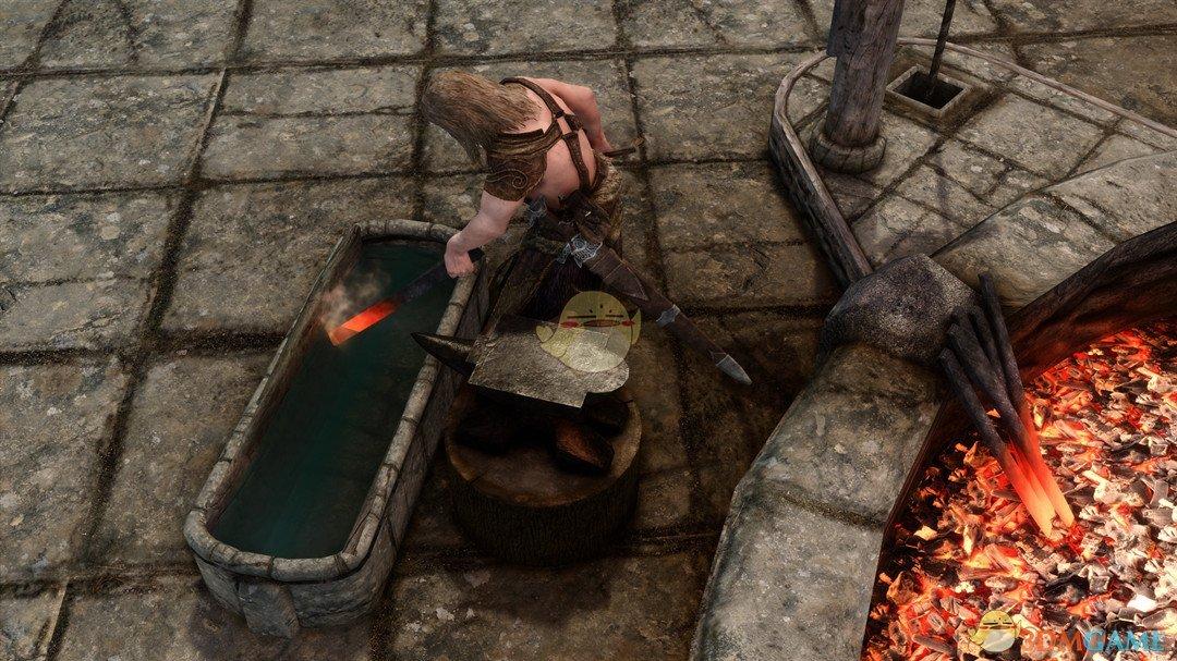《上古卷轴5:天际》高清纹理铁匠铺MOD
