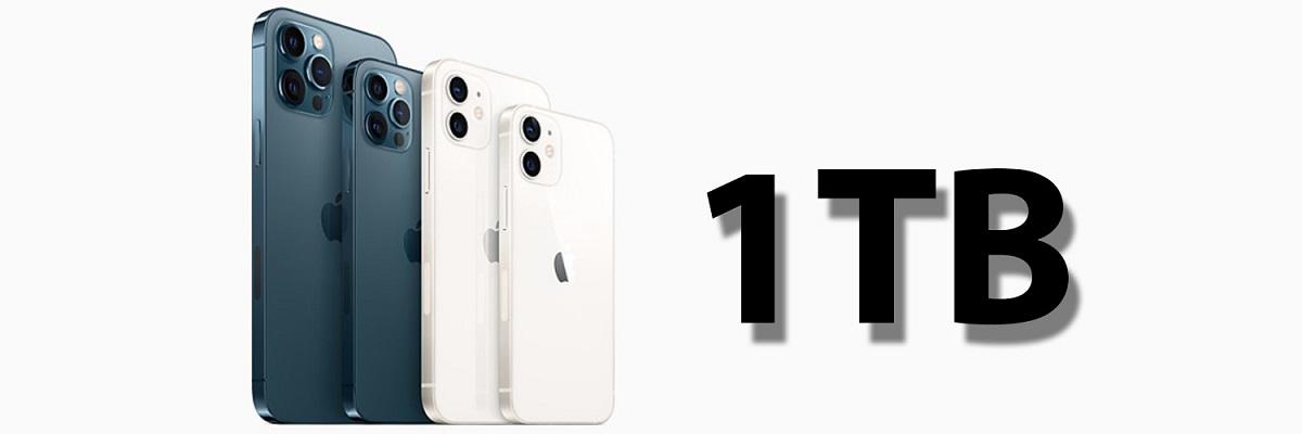 iPhone 13所有机型都将提供1TB型号 且都会配备激光雷达扫描仪