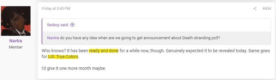消息称PS5《死亡搁浅》扩展版已经做好只等发布