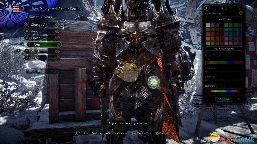 《怪物猎人:世界》黑骑士酸斩龙套装MOD
