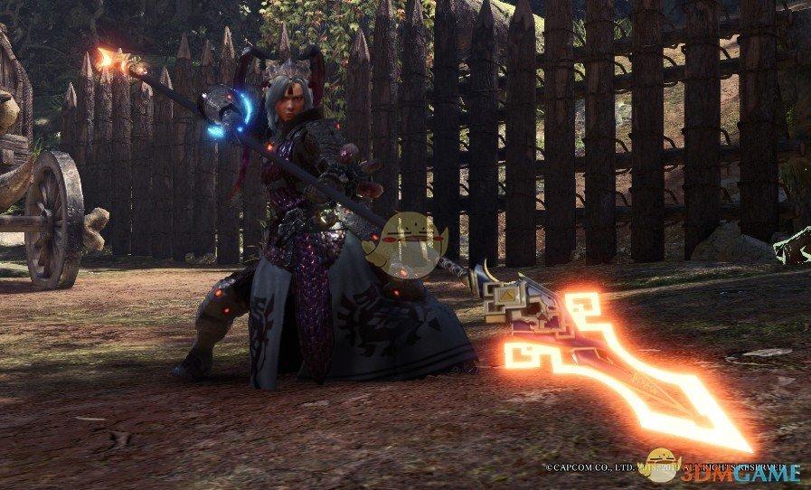 《怪物猎人:世界》原神岩枪MOD