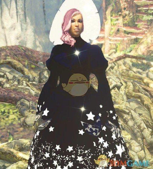 《怪物猎人:世界》星辰女巫长袍MOD