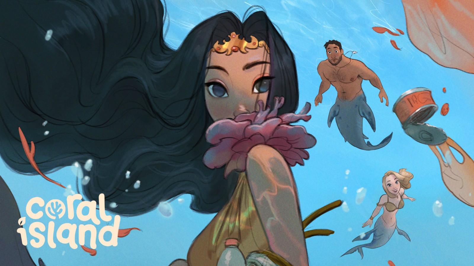 虚幻4种田游戏《珊瑚岛》众筹成功 追加内容及主机版