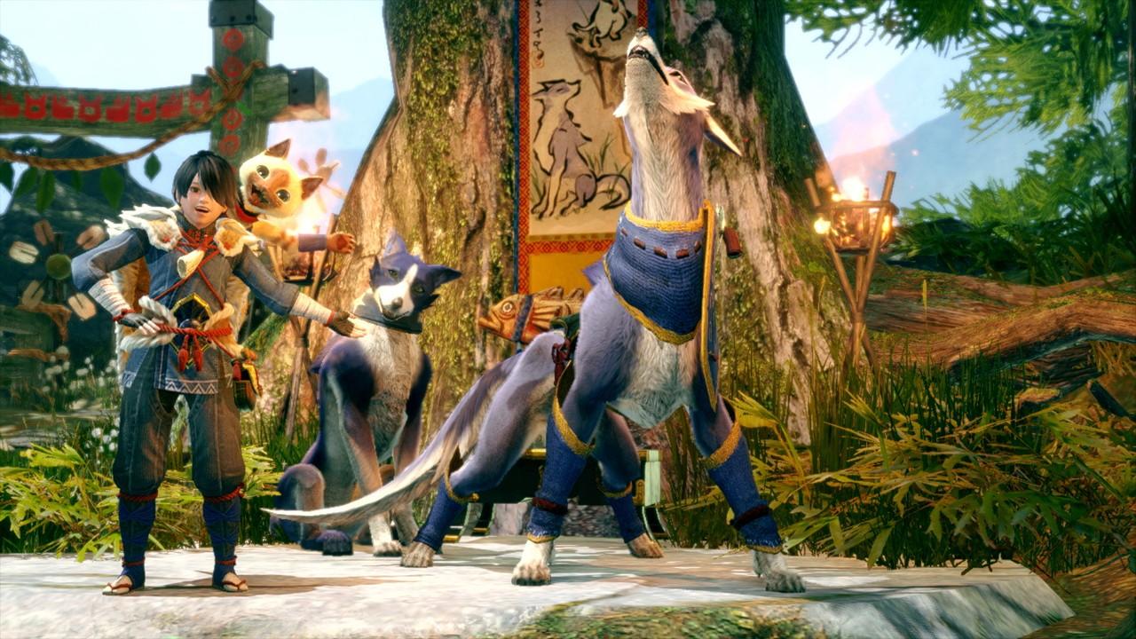 《怪猎猎人:崛起》中登场的《怪猎世界》怪物展示